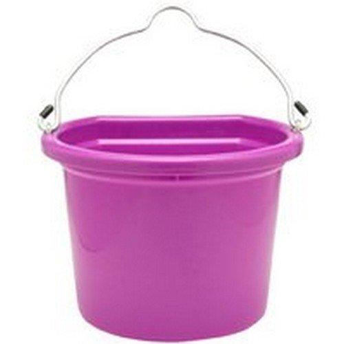 - Pink Flat Back Bucket 20qt
