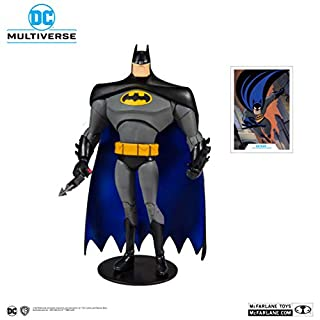 McFarlane Toys DC Multiverse Batman: Batman The Animated Series Action Figure, Multicolored