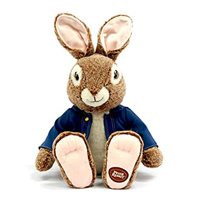 Dan Dee Plush Peter Rabbit Sitting Stuffed Animal - 23 Inches - Official Movie Character: Toys & Games