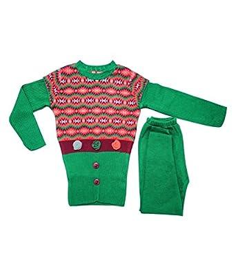 621bd5e9b24 TEN BY TEN SAHAJ RANG Girls Sweater Regular fit Round Neck Casual ...