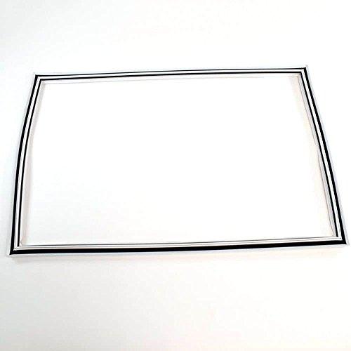 Refrigerator White Door Gasket (Frigidaire 242193206 Refrigerator Door Gasket (White) Genuine Original Equipment Manufacturer (OEM) part for Frigidaire, Kenmore, Crosley, White-Westinghouse, & Universal/Multiflex (Frigidaire), White)