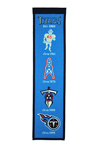 NFL Tennessee Titans Heritage Banner (Display Titans Tennessee)