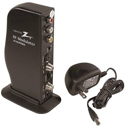 AmerTac - Zenith VR1001RFMDS RF Modulator/Video Converter with S-Video Input