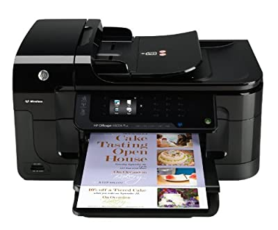 HP Officejet 6500A e-All-in-One Inkjet Printer, Copy/Fax/Print/Scan (HEWCN555A) Category: Inkjet All-In-One Machines