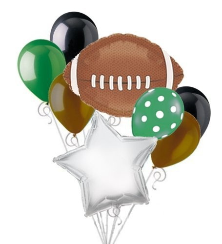 Football Balloon Bouquet Set - Sports Super Bowl
