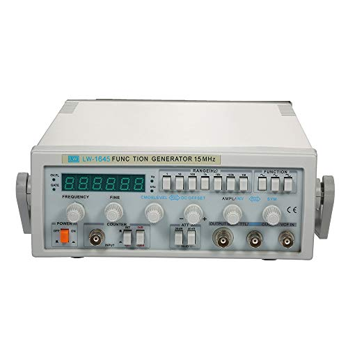 (Signal Generator, KKmoon LW-1645 Wave Digital Function Signal Generator 0.1Hz-15MHz Frequency AC 220V)