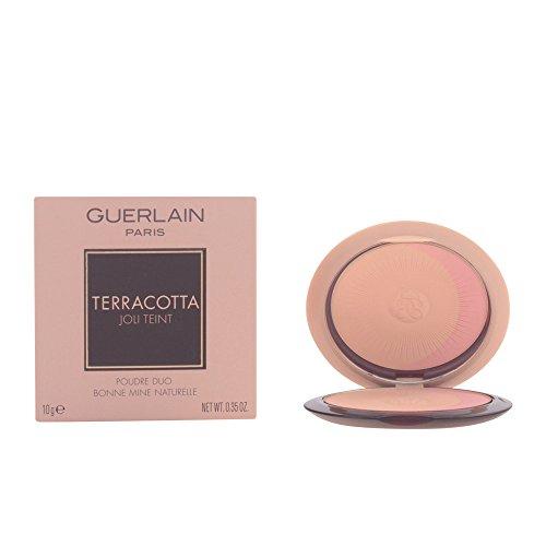 Guerlain Terracotta Joli Teint Powder Duo, No. 00 Clair Blondes, 0.33 Ounce ()