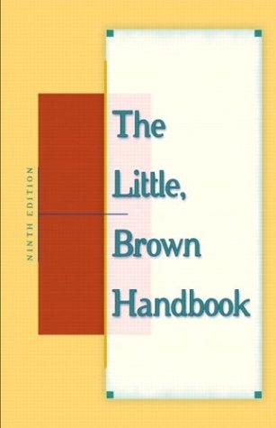 Books : The Little, Brown Handbook, Ninth Edition