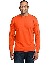Port & Company Men's Long Sleeve 50/50 Cotton/Poly T Shirt