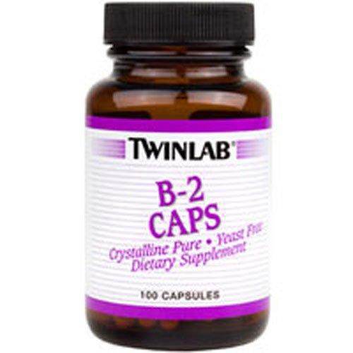 Twinlab B-2 Capsule, 100 Mg - 100 per pack -- 3 packs per case. by Twinlab