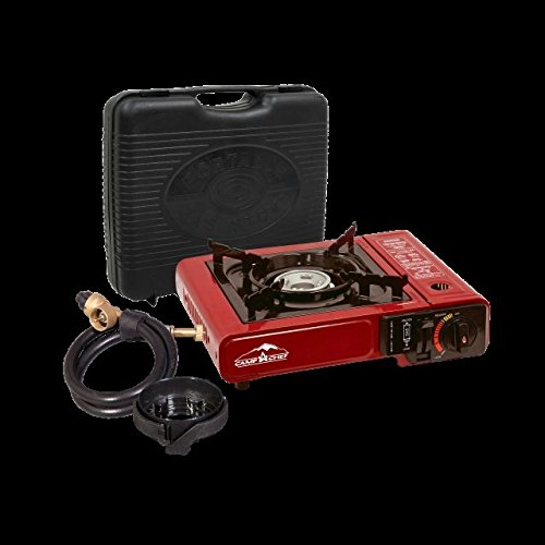 Camp Chef Multi-Fuel And Butane Stove, Red/Black, (Multi Fuel Backpacking Stoves)