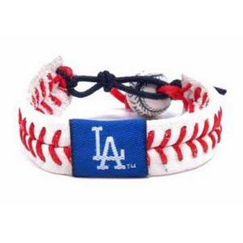 (Los Angeles Dodgers Classic Baseball Bracelet )