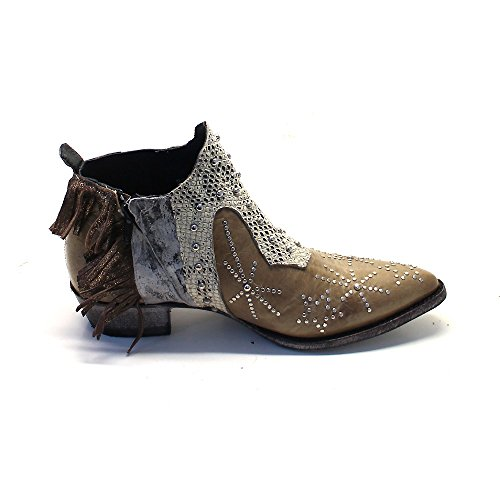 Mexicana Women's Cowboy Boots Beige (bone vesuvio baby) TO4jXGU