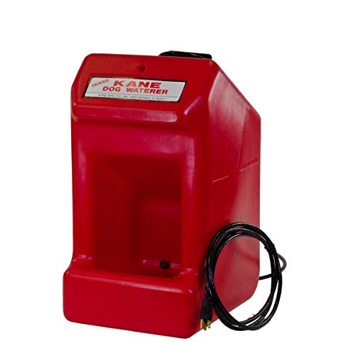 Kane KDW-H Heated Dog/Pet/Small Animal Waterer with Automatic Electric 110V Thermostat To Control Water Temperature, Self-Mounting Brackets Included, 5 Gallon Capacity, 22