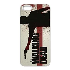 iPhone 5, 5S Phone Cases White The Walking Dead LSDE5494879
