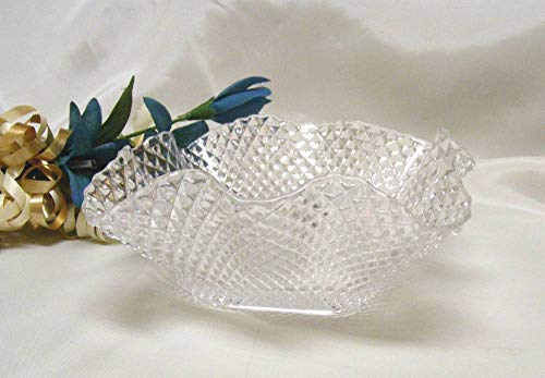 Westmoreland English Hobnail Crimped Deep Dish Candy Bowl