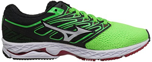 Mizuno MizunoMizuno Men's Wave Shadow Running Shoes, Wave Shadow, Scarpe da Corsa da Uomo da Uomo Green Slime/White