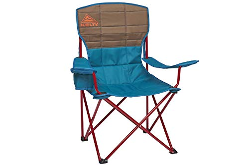 Kelty Essential Camping Chair, Deep Lake/Fallen Rock - Folding Camp Chair for Festivals and Beach Days - Updated 2019 Model