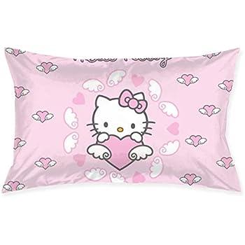 Amazon.com: Liuyan - Funda de cojín de Hello Kitty, color ...