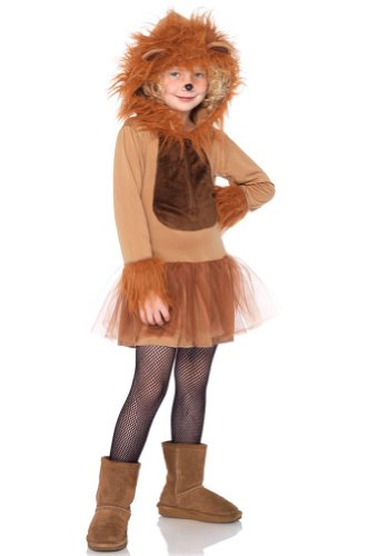 Leg Avenue Lion Costumes - Cuddly Lion Child Costume - Medium