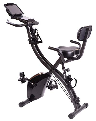 FITNATION Flex Bike Desk Pro Plus with Resistance Bands for Upper and Lower Body Training