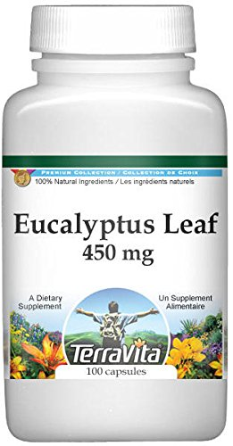 Cheap Eucalyptus Leaf – 450 mg (100 capsules, ZIN: 511291)