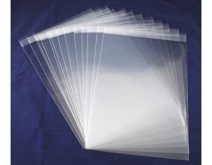 Craft UK C5 Poly Bags, trasparente, confezione da 50 CUK341