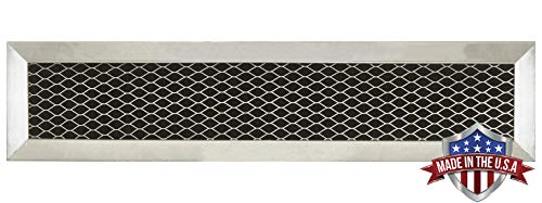 GE WB02X10943, JX81D, WB2X10943 Microwave Recirculating Charcoal Filter (Made in USA) (1-Pack)