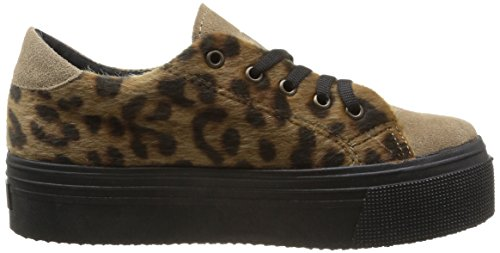Scarpe No Donna Ginnastica Box Marrone leopard marron Da qqcgPZT5