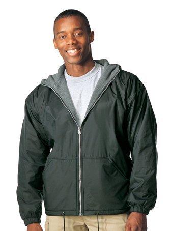 Rothco Reversible Fleece-lined Nylon Jacket With Hood (XL, Black)