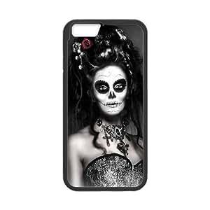 "GGMMXO Sugar Skull Phone Case For iPhone 6 Plus (5.5"") [Pattern-1]"