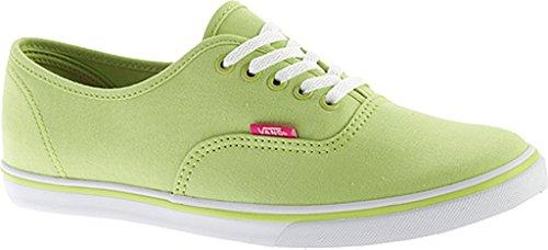 Vans Unisex Authentic (tm) Lo Pro Sneaker Grünes Glühen / Lila Rose