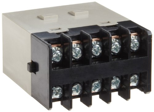 Omron G7J-3A1B-B AC100/120 General Purpose Relay, Screw Terminal, W-Bracket Mounting, Triple Pole Single Throw Normally Open and Single Pole Single Throw Normally Closed Contacts,  18 to 21.6 mA Rated Load Current, 100 to 120 VAC Rated Load Voltage (Pole Single Triple Throw)