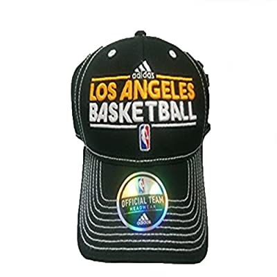 Los Angeles Lakers Adidas Team Practice Adjustable Hat