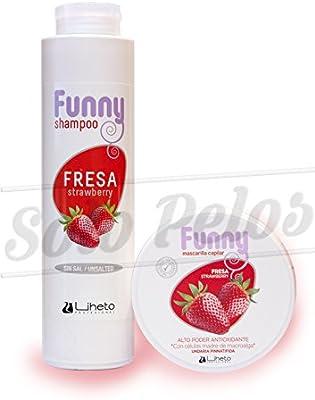 LIHETO Pack Funny champu + mascarilla Fresa: Amazon.es: Belleza