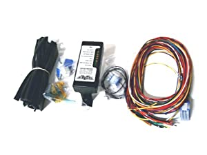 41ZFbrDU7rL._SX300_ amazon com ultima complete wiring harness kit for harley davidson harley davidson wiring harness at bayanpartner.co