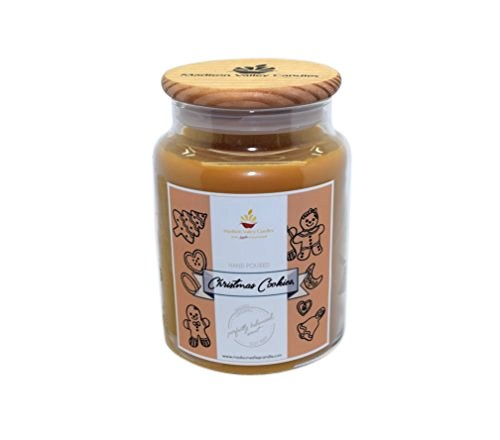 Madison Valley Soy Candle Company Strong Scented Snickerdoodle Cookie 26oz