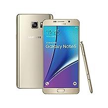 Samsung Galaxy Note 5 N9208 DUAL-SIM Factory Unlocked Smartphone 16MP 5.7IN Quad HD 32GB NFC Gold