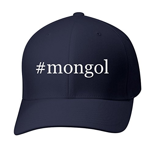 BH Cool Designs #Mongol - Baseball Hat Cap Adult, Dark Navy, Small/Medium