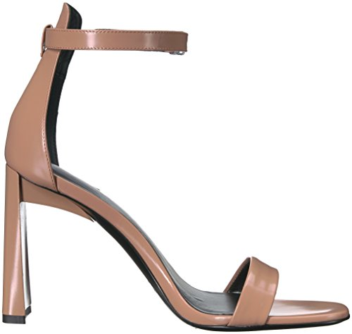 clearance amazon Via Spiga Women's Faxon Angular Heel Heeled Sandal Desert Leather looking for cheap online buy cheap store clearance low shipping fee cheap sale manchester great sale wZS5D1ylH