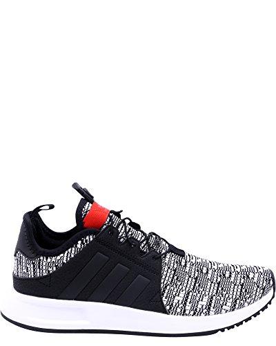 adidas X PLR J Sneakers ,Black/red,5.5