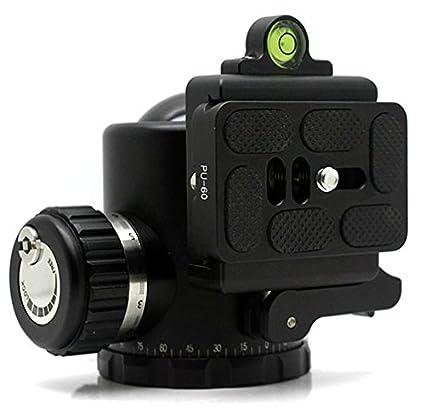 CameraPlus - FDB-44 Rótula para trípode con 44mm Esfera Arca / RRS Compatible +