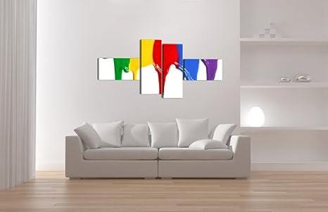 6529 Colores Cuadros en Lienzo ´ 160 x 70 cm Nr