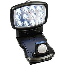 Xtralite NiteSafe 12 LED Wireless FloodLight With Motion Sensor, Multidirectional Rotation Light