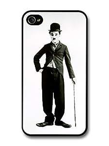 diy case Charlie Chaplin Grayscale iPhone 6 4.7 Case