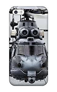 Special Design Back Military Helicopter Phone Case Cover For Iphone 5/5s
