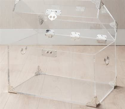 Ciao Bella Acrylic Trunk – Silver Plated