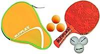Sunflex Tischtennisschläger BOY`S EDITION mit 3 Bällen + TT-Hülle PERFECT + 3...