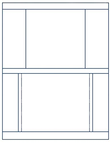 (Matte Finish Front & Back Jewel Case Inserts (Stomper Format) for Standard Jewel Cases, 100-Pak (100 Sheets))