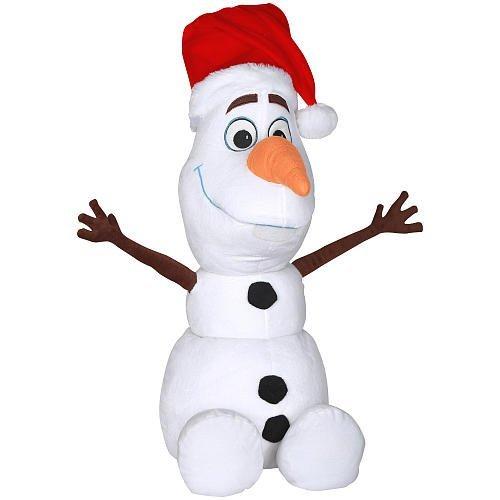 barato en alta calidad Holiday Greeter - Disney Frozen Olaf with Santa Hat Hat Hat by Disney  apresurado a ver